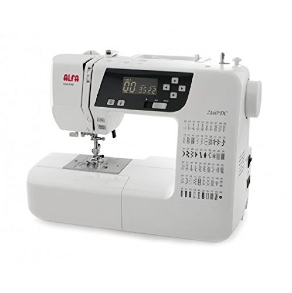 Opiniones y precio de la máquina de coser Alfa style 40 up